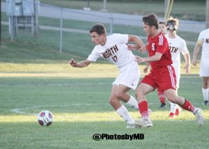 9/28/17 Martinsville boys soccer at Bloomington North