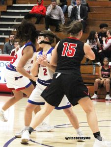 1/9/18 Martinsville girls' basketball vs. THS