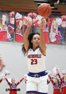 1/5/18 Martinsville girls' basketball vs. DC