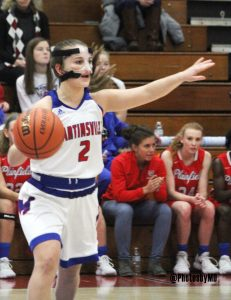 12/15/17 Martinsville girls' basketball vs. Plainfield