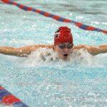 12/14/17 Martinsville coed swimming vs Franklin ***Senior night***