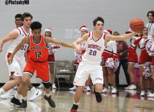 12/12/17 Martinsville boys' basketball vs. Indiana M&S