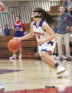 11/29/17 Martinsville girls' varsity basketball vs. Cascade