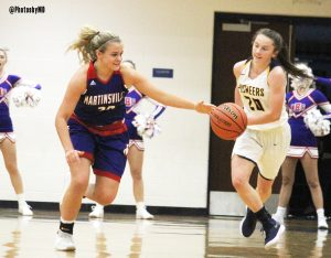 11/21/17 Martinsville girls' varsity basketball at Mooresville