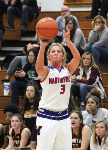 11/14/17 Martinsville girls' varsity vs. Bloomington North