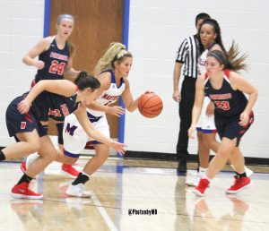 11/11/17 Martinsville girls basketball vs. THN