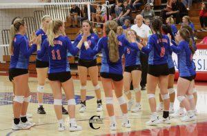 PHOTO ALBUM: Volleyball vs. Indian Creek 8-20-19
