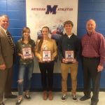 Student Athletes of the Month for October
