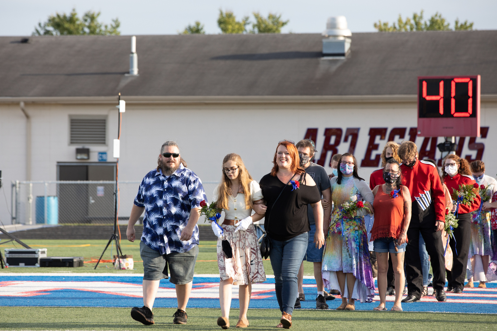 Martinsville High School | Senior Night Band & Color Guard | 2021 Seniors