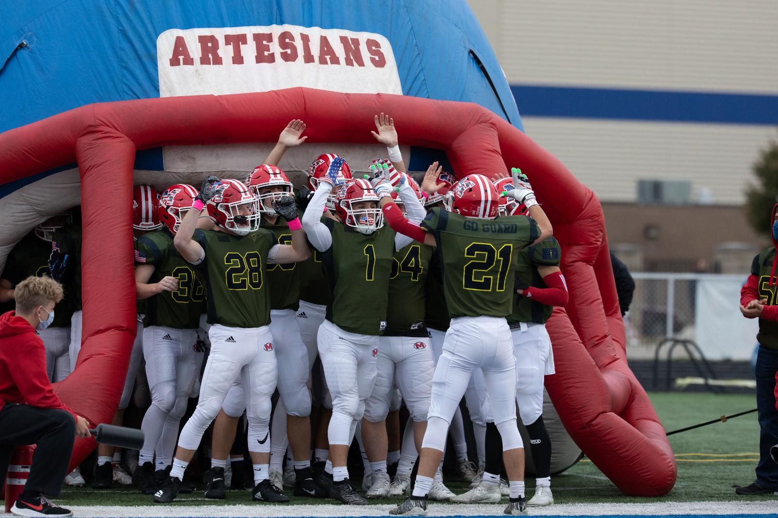 Martinsville High School Varsity Football VS Perry Meridian High School