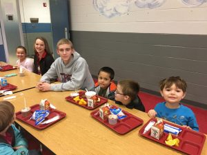 Breakfast with the Warriors at Westminster Elementary