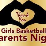 Girls Basketball Parent/Senior Night