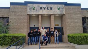 Boys Soccer Visits Kyle Elementary