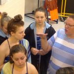Saint Joseph High School Girls Varsity Swimming finishes 2nd place