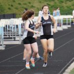 Girls track & field had five qualify for Regional competition