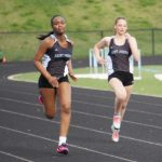 Five girls' track and field members advance to Regionals