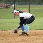 Saint Joseph High School Varsity Softball beat Buchanan High School 2-1