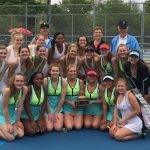 Girls tennis are NIC champs