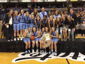 Girl's Varsity Basketball State Championship Run
