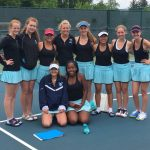 Girl's Tennis Earns All-District Honors