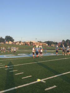 Football July Team Camp