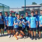 Saint Joseph High School Boys Varsity Tennis finishes 2nd place