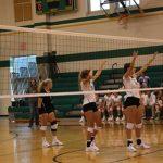 Varsity volleyball beat Northridge