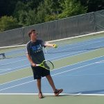Boys varsity tennis beat LaPorte