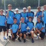 Saint Joseph High School Boys Junior Varsity Tennis finishes 2nd place
