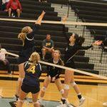 Varsity volleyball beat Riley