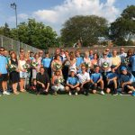 Tennis Honors Seniors and Parents in Final Home Match