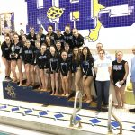 Girls Varsity Swimming finishes 1st place at South Bend City Swimming and Diving Championships