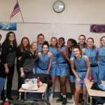 Girls Varsity Basketball beats Montini 34 – 31