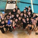 Girls' Swimming wins IHSAA Sectional