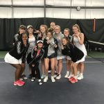 Girls Varsity Tennis falls to Carroll 3 – 2
