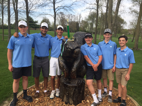 Boys' Golf 2nd at Concord Invitational