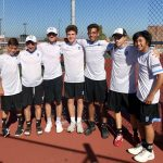 Boys Varsity Tennis finishes 1st place at Portage (Portage Invite)