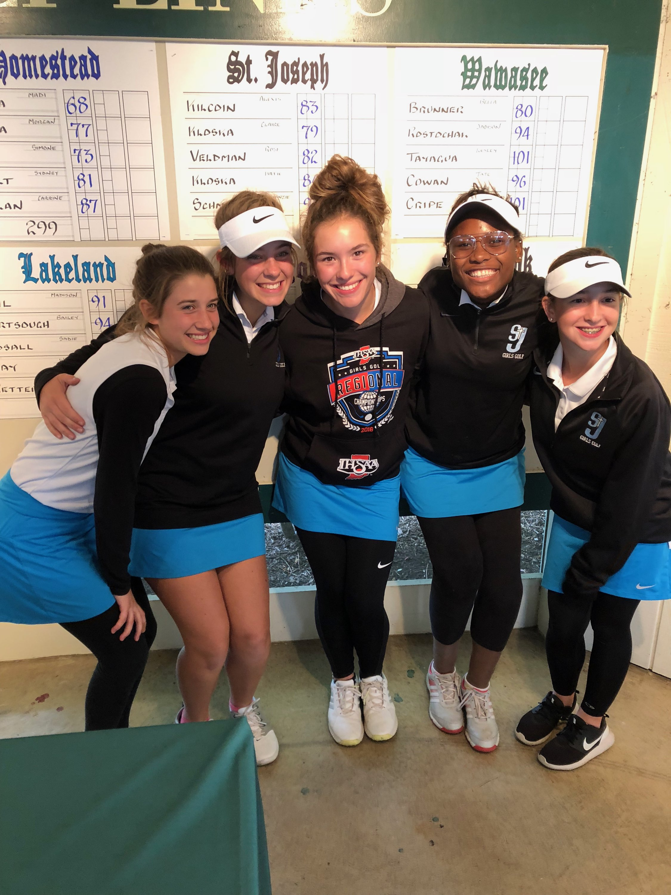 Girls' Golf is headed to STATE!