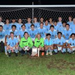 Boys Soccer beat Culver Academy 2-1 for the Sectional Championship