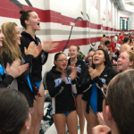 Girls Varsity Swimming finishes 1st place at Munster Relays 2018