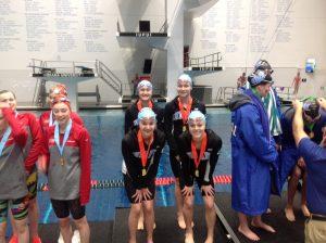 Girls' Swimming State Championships