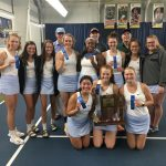 Girls' Tennis wins IHSAA Sectional