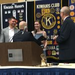 Maggie Barrett Receives the Kiwanis Grand Award