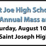 Saint Joe High School Athletics First-Annual Mass and Breakfast