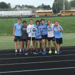 Boys Cross County Excels at New Prairie Invite