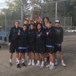 Boys' Tennis Team is the IHSAA Sectional Champion