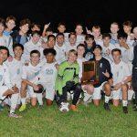Boys' Soccer Wins IHSAA Regional – Semi-State Bound