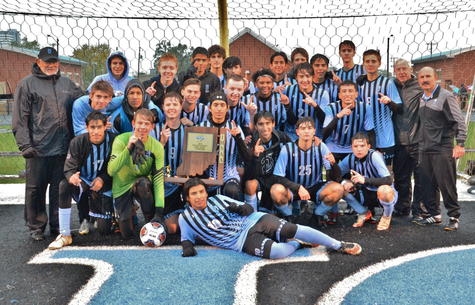 Boys' Soccer Advances to State Championship Game
