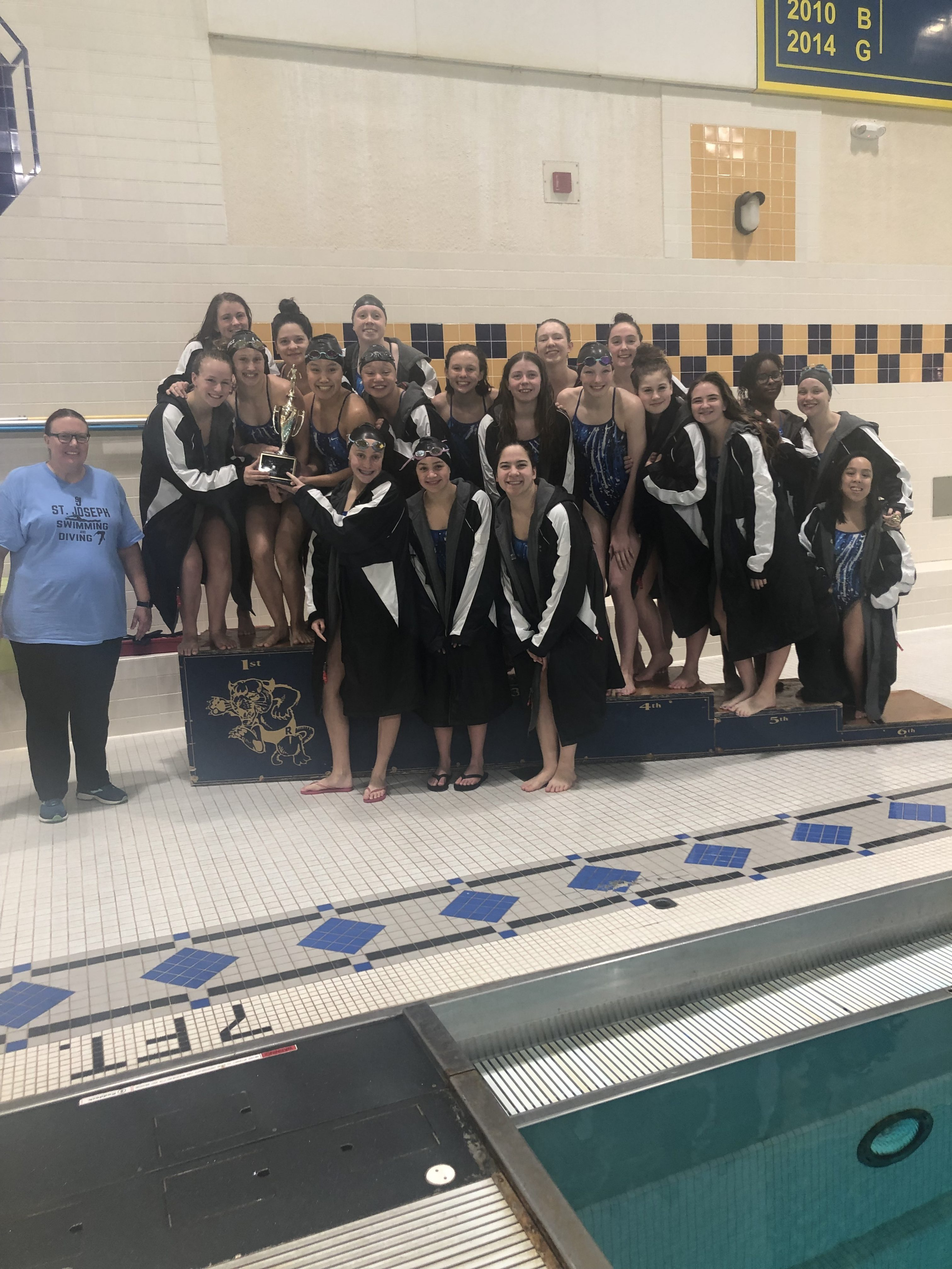 Girls Swimming prevail as City Champs!