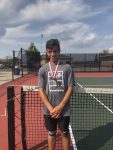 Boys Varsity Tennis finishes 3rd place at Fishers Tournament